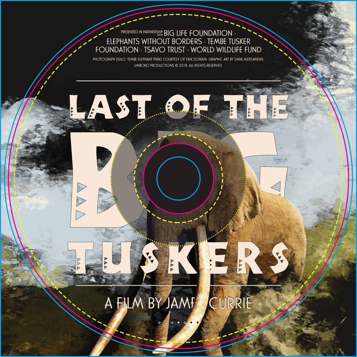 Last of the Big Tuskers – cover art (Album) © 2018 Umboko Productions