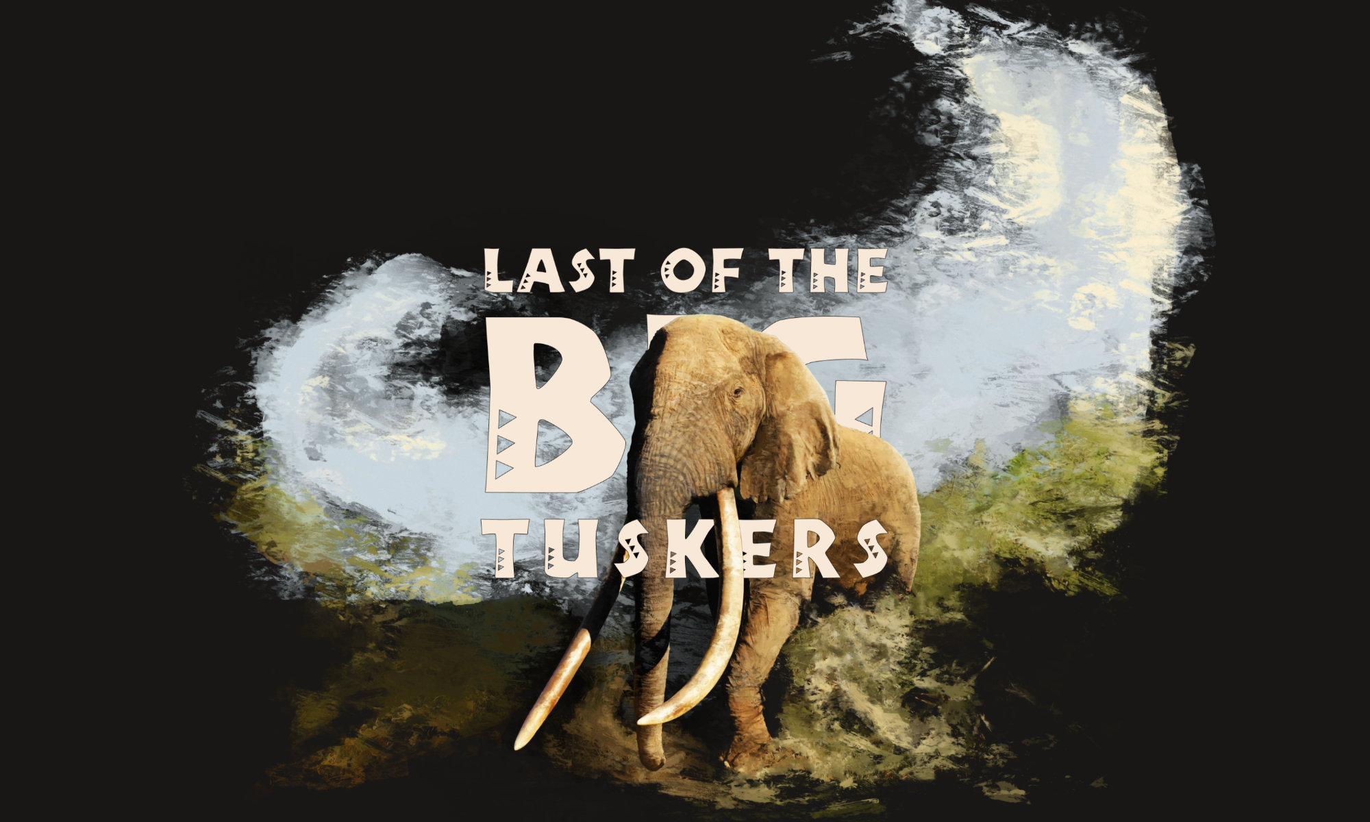 Last of the Big Tuskers – cover art © 2018 Umboko Productions